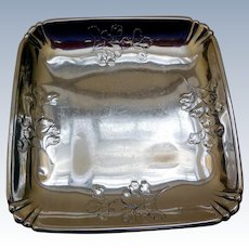 Vintage Sterling Silver Dish by Wallace