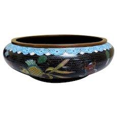 Antique Chinese Cloisonne Bowl