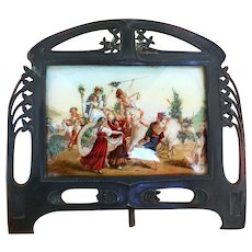 Antique Copper Arts & Crafts Table Frame