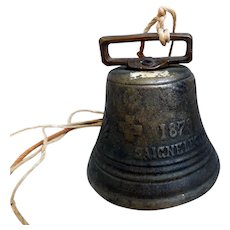 Early Saignelegier Chiantel Fondeur Cow Bell