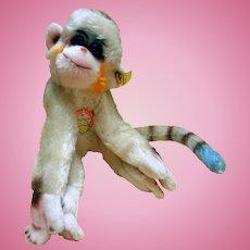 "Vintage Steiff ""Mungo"" Monkey, 1950s/60s"
