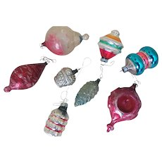 Early Glass Christmas Tree Ornaments - 8