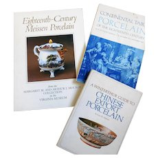 Three Reference Books of Antique Porcelain