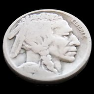 1918-S Early Date Buffalo Nickel Book Nice