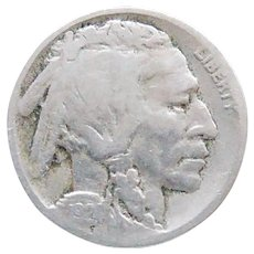1924-D Early Date Buffalo Nickel Book Nice Full Date