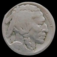 1925-D Early Date Buffalo Nickel Book Filler Nice