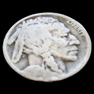 1920-D Nice Early Date Buffalo Nickel Book Filler