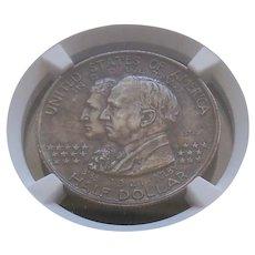 1921 2X2 Alabama Commemorative Half Dollar Very High Grade