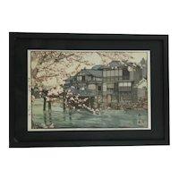 Hiroshi Yoshida (1876-1950) 'Hayase' Series: Kansai District