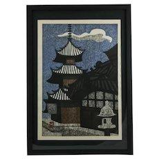 Kiyoshi Saitō (1907-1997) 'Village Temple'