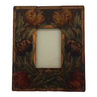 Arthur G. Grinnell Craftsman Boston Society of Arts and Crafts Wooden Frame d1908