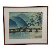 Tokuriki, Tomikichiro (1902-1999)  'Autumn at Arashiyama'