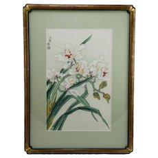 Eiichi Kotozuka (1906-1979) 'Cattleya Orchids'