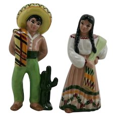 Ceramic Arts Studio Large 'Mexican Couple' Signed BH for Betty Harrington