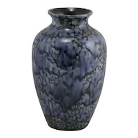 Stangl Mid-Century Modern Pebblestone Blue/Purple Glaze Vase c1960-70