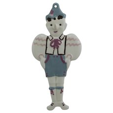California Cleminsons Pinocchio Toothbrush Holder Wall Hanger