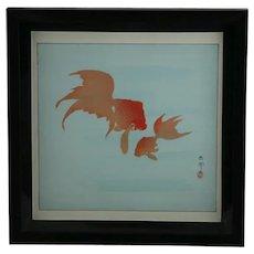 Ohara Koson (Shoson/Hoson) (1877-1945) 'Two Goldfish'