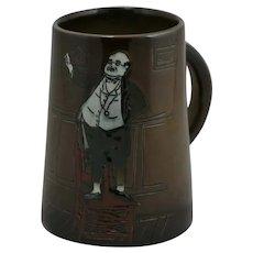"""Weller Dickensware II 5.5"""" 'Mr. Pickwick' Mug By Edwin L. Pickens"""