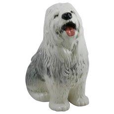 Beswick Ware England Large 'Old English Sheep Dog' Figural by Albert Hallam
