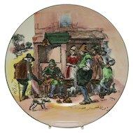 "Royal Doulton 10.5"" El Cobler Plate D.6302. Mint"