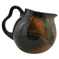 "Rookwood Standard Glaze 5.75"" Pitcher 1894 With An Ear of Corn By Mary Madeline Nourse"