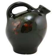 "Weller Louwelsa 5.25"" Jug With Orange Currant Berries In Rich Standard Glazes"