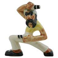 "Shearwater 6"" Pirate Figural 'Two-Pistol Pete' 1930s A Walter Inglis Anderson Design"