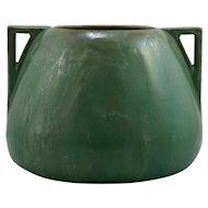 """Fulper 7.25"""" x 10"""" Arts & Crafts Urn/Vase In Rich Seafoam Green Frothy Glazes F281"""