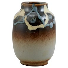 "Stanley Ballard 5.25"" Vase With Stylized Decoration Alfred Graduate c1940s Mint"