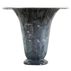 """Rookwood Violet Gray 8.5"""" Vase W/Morning Glories In Violet/Gray Glazes d1949"""
