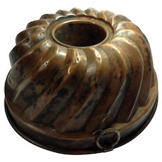 Vintage Copper Food Mold