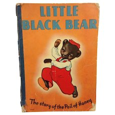 1939 Child's Book: Little Black Bear