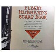 1923 Elbert Hubbard's Scrapbook