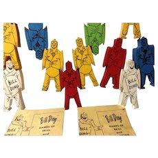 Vintage Bill Ding & His Jolly Clowns