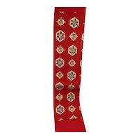 Oriental Red Sash