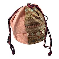 Silk Road Drawstring Purse