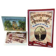 Circus Memorabilia / Postcards & Book