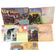 New Orleans Souvenir Postcards Pre 1960