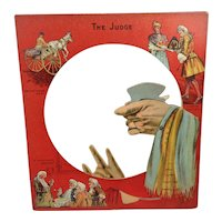 The Judge:  Shadow Toy For Hand Puppetry