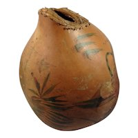 Art Carved Gourd With Underwater Scene