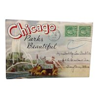 Max Rigot Chicago Parks Beautiful Souvenir Folder