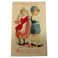 Embellished Valentine / Unsigned Clapsaddle