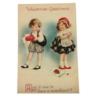 Unsigned Clapsaddle Valentine