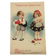 Unsigned Clapsaddle Valentine