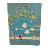 '37 1st Ed. 7th Printing Seuss