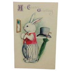 Gentleman Rabbit Easter Greetings