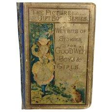 1890 Illustrated Children's Book