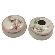JPL France Hair Receiver / Powder Jar Dresser Set