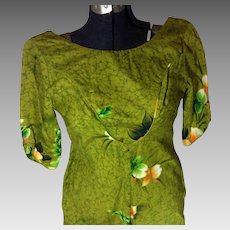 Hawaiian Reef Designer Label Dress