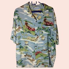 Old School Aloha Shirt